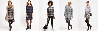 Ubrania w kratę: jak i z czym je nosić?