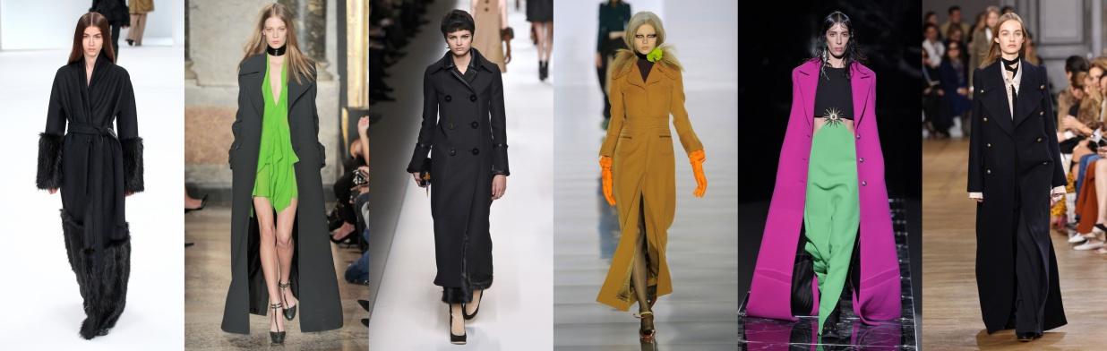 Wybór projektantów: długie płaszcze