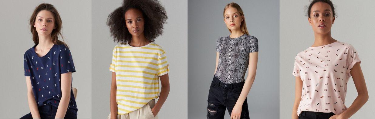 e3c1a591a Wybór redakcji: TOP 30 T-shirtów na lato - Trendy w modzie w Domodi