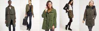 Wybór stylistki: kolor khaki