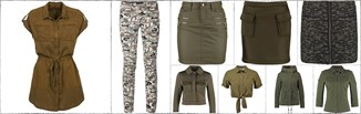 Wybór stylistki: styl militarny