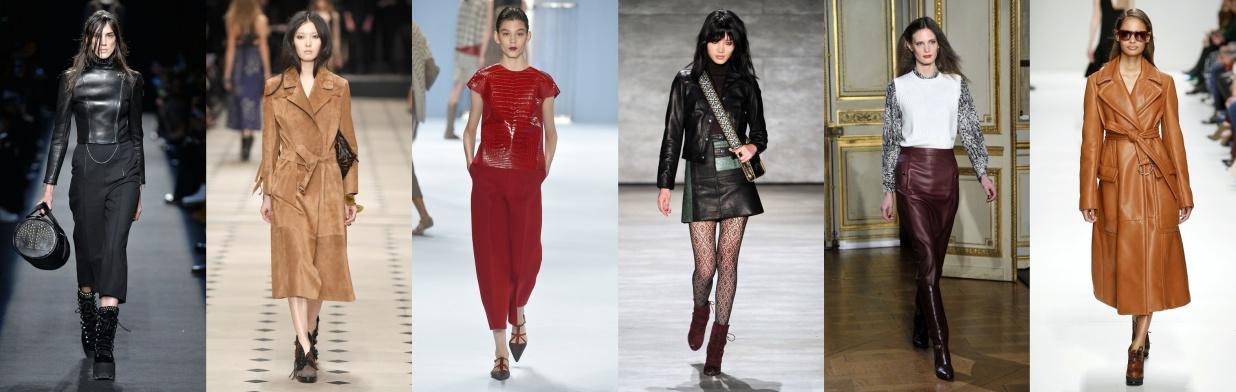 Wybór projektantów: ubrania ze skóry