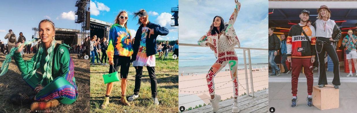 Wybraliśmy najlepsze stylizacje z Open'er Festival 2019