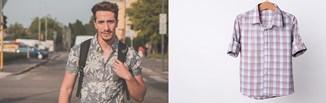 Wzorzyste męskie koszule z krótkim rękawem - wielki powrót kolorowych printów. Jak je nosić?