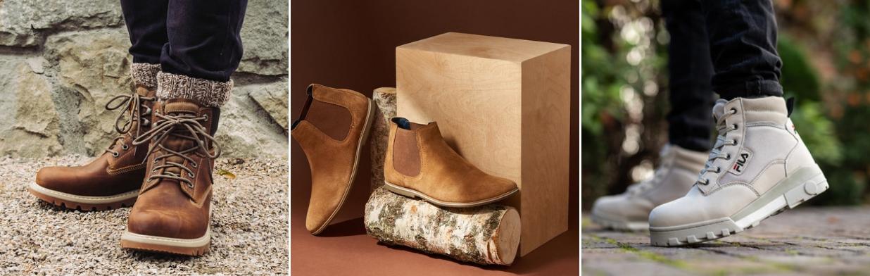 81ef2ab7a2eb7 Zobacz najmodniejsze buty męskie na zimę! - Trendy w modzie w Domodi