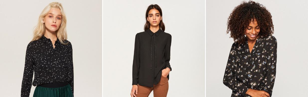 Zobacz najmodniejsze stylizacje z czarną koszulą!