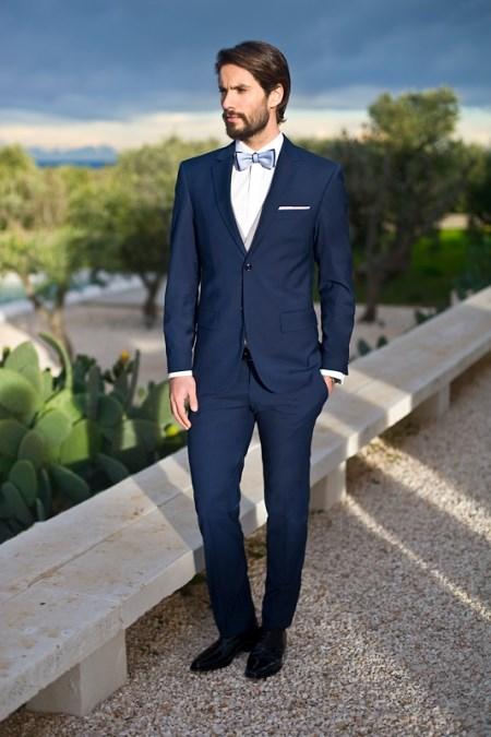 2679b37d672b3 Garnitury męskie - trendy na ślub 2017 - Trendy w modzie w Domodi
