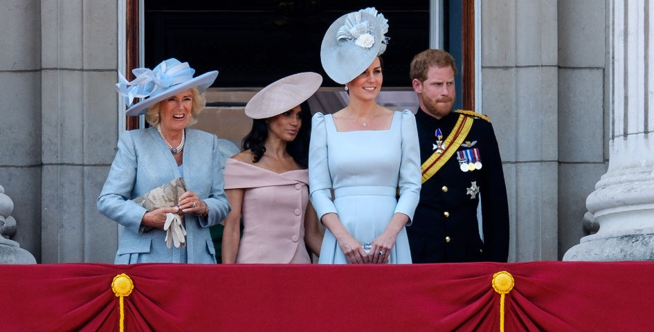 księżna kate, camilla, meghan i harry