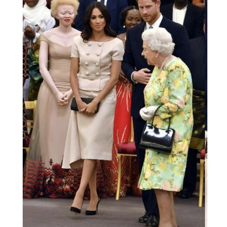 meghan markle w buckingham palace