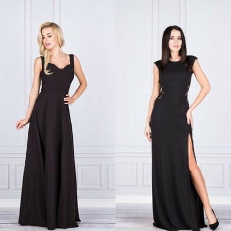 8073bdb157 Czarna sukienka na wesele  Mamy na nią sposób! - Trendy w modzie w ...