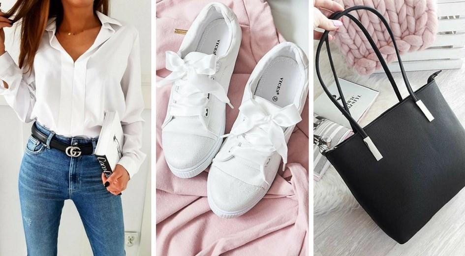 4431a23135 Biała koszula - stylizacje