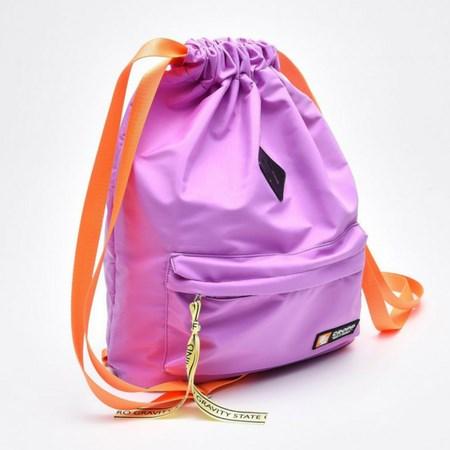 fioletowy plecak