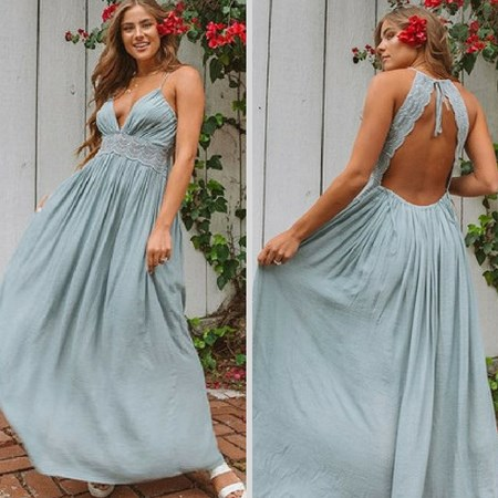 Elegancka sukienka letnia na wesele