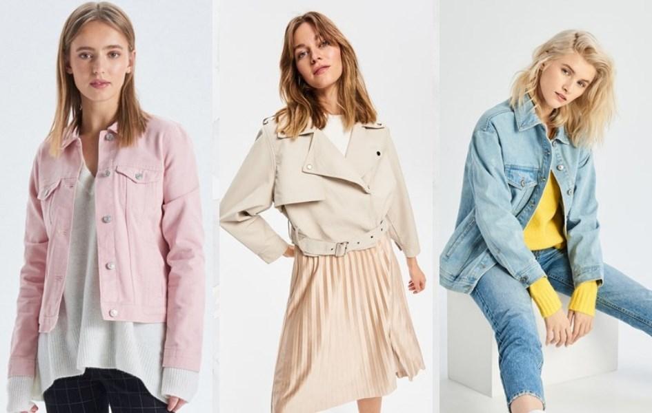 modne kurtki na wiosne 2018 damskie