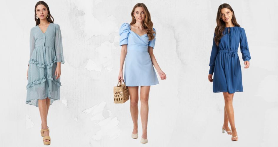 Dodatki Do Niebieskiej Sukienki Jakie Wybrac Trendy W Modzie W Domodi
