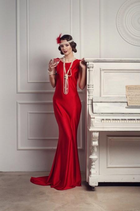 sukienka lata 20. we współczesnej wersji