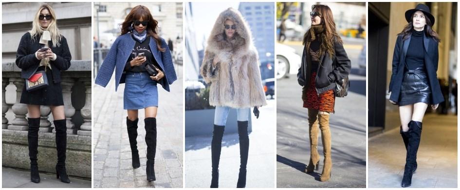 bcbb4ed50905 Kozaki za kolano z zimowych wyprzedaży - Trendy w modzie w Domodi