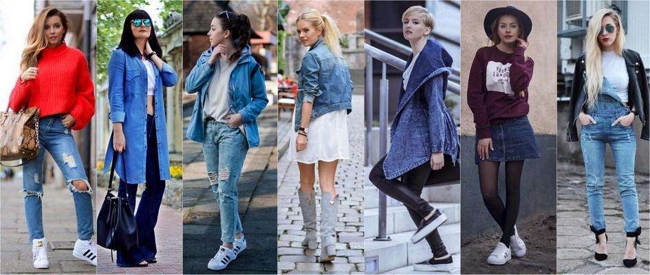 Sprawdź 5 sposobów na jeans! Trendy w modzie w Domodi